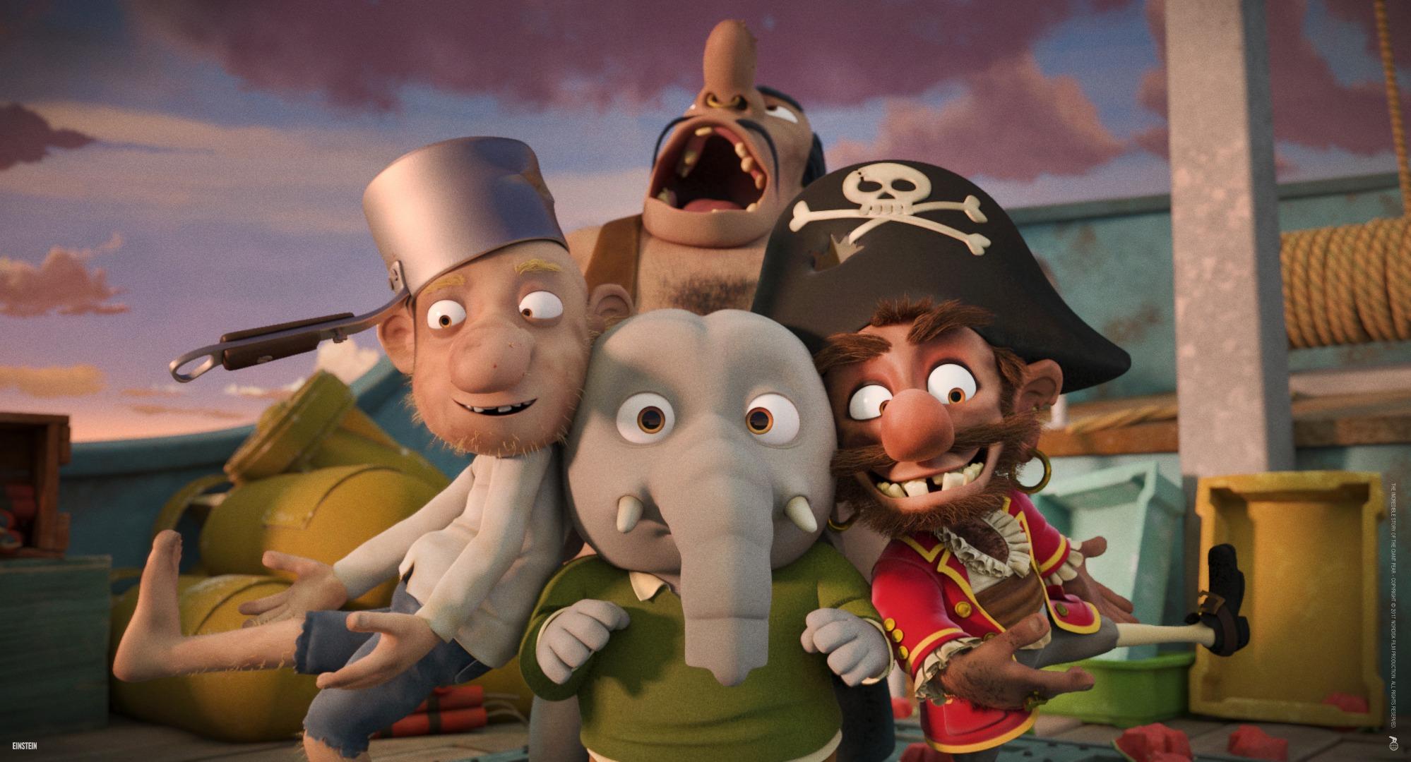 animação filme infantil aventura pera gigante